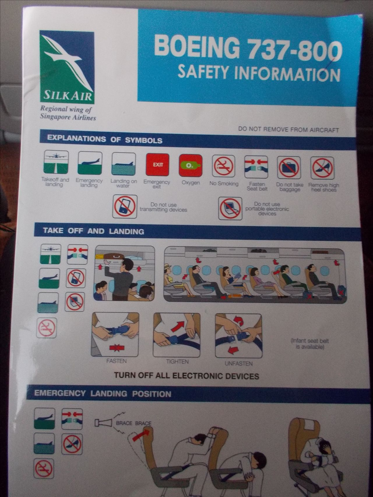Review of silkair flight from cebu to singapore in economy in flight magazine safety card towellete and a water biocorpaavc Gallery